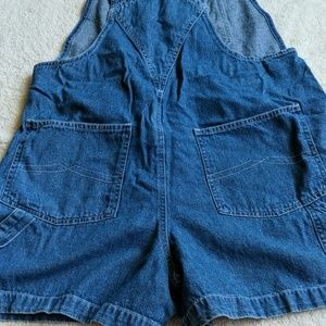 Disney Jeans - Vintage Disney Lady and the Tramp Short Overalls